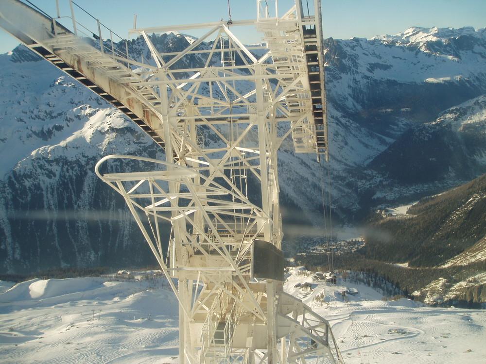 """""""Mont-Blanc""""--Argentière -- Téléphérique de Lognan- Grands Montets 3275 m."""