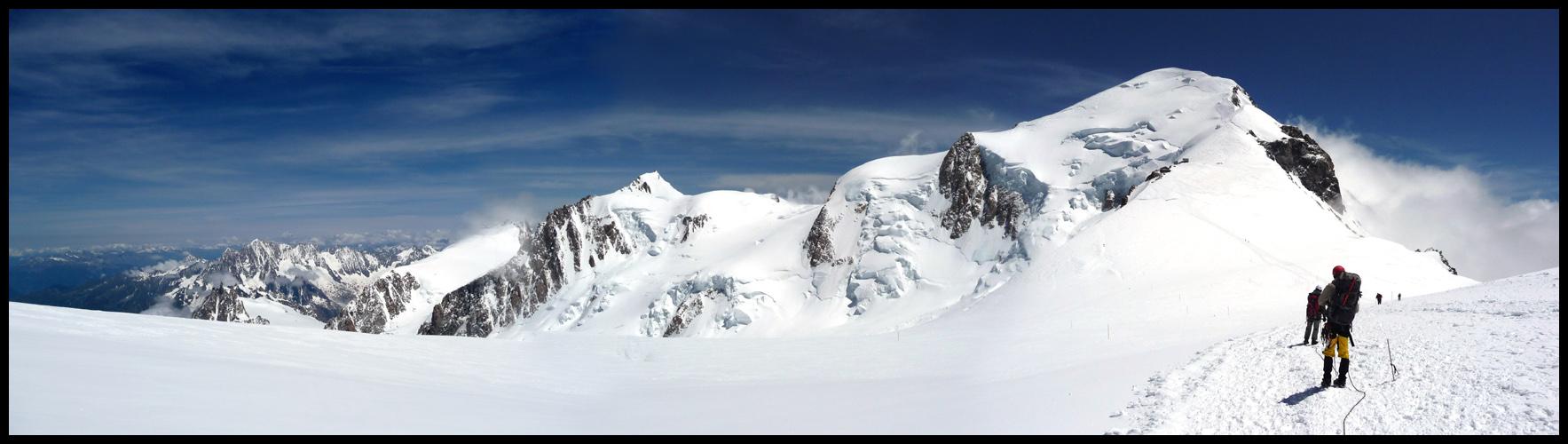 Mont Blanc - die Überschreitung (2. Versuch)