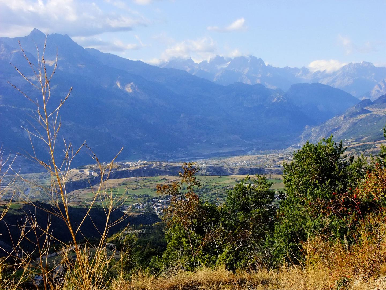 Mont-Dauphin et le Pelvoux