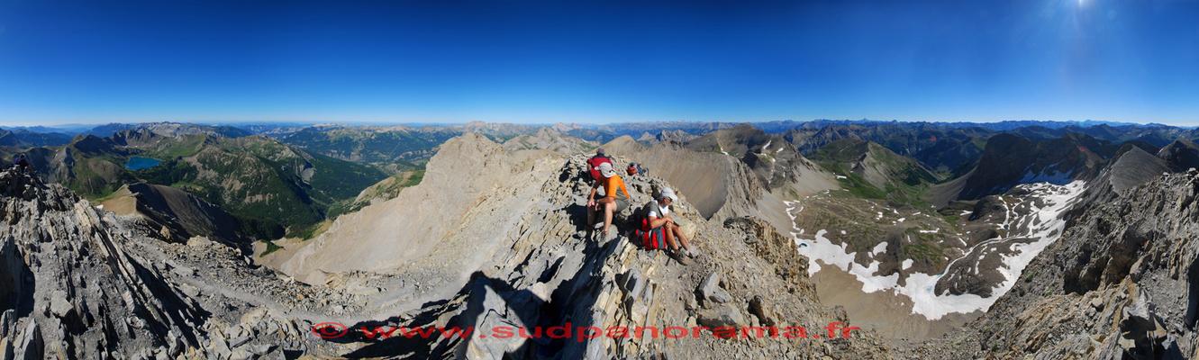 Mont Pelat 360° 3051 mètres Alpes de Haute Provence
