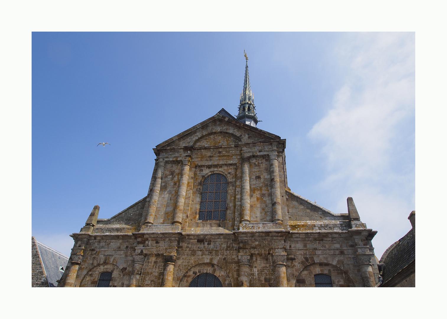 Mont St Michel Kirche Front