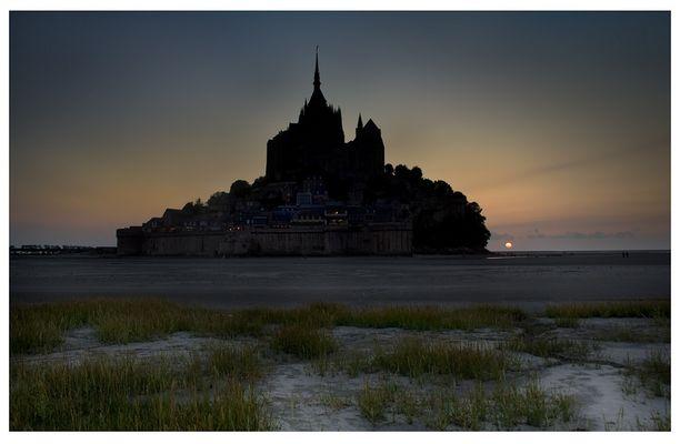 Mont St Michel, leider bei Ebbe