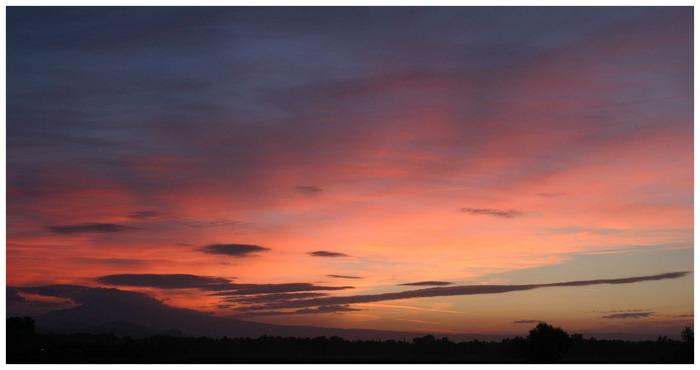 Mont Ventoux - lever de soleil