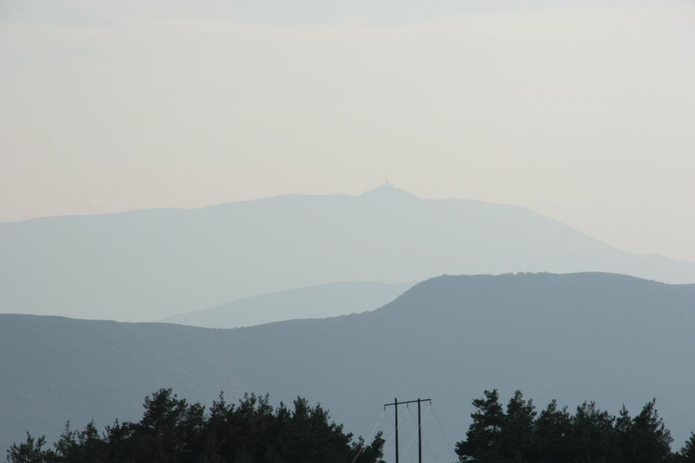 Mont Ventoux vom Col du Perty
