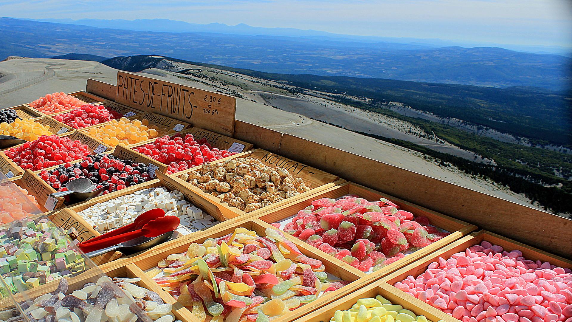 Mont Ventoux Zucker Tankstelle