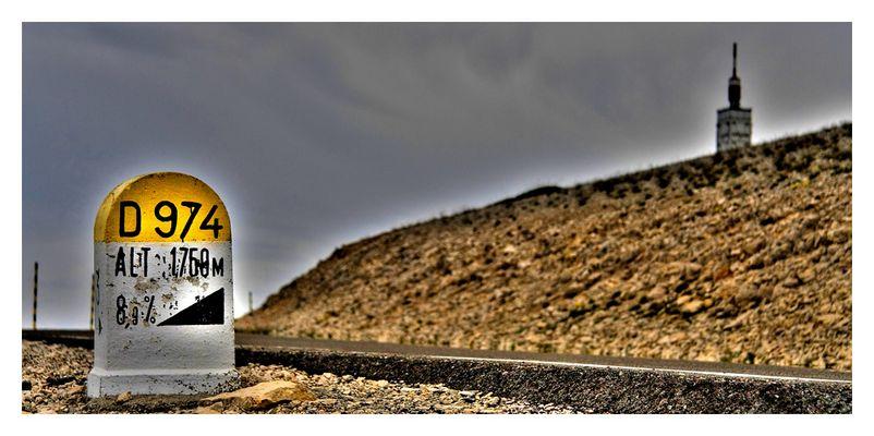 Mont Ventoux...is it love ?