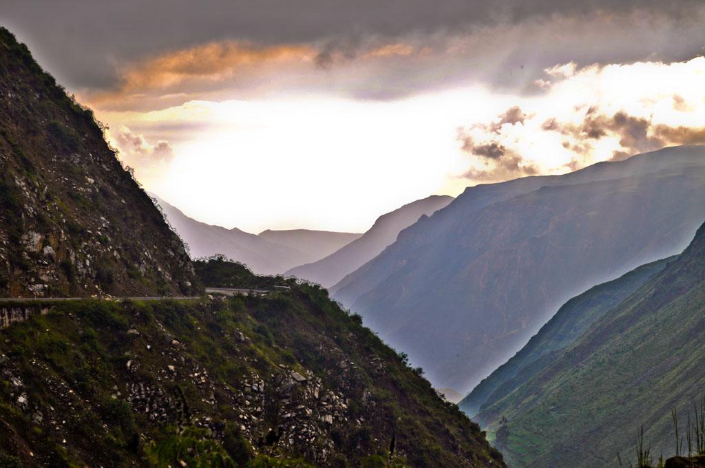 Montaña en los Andes