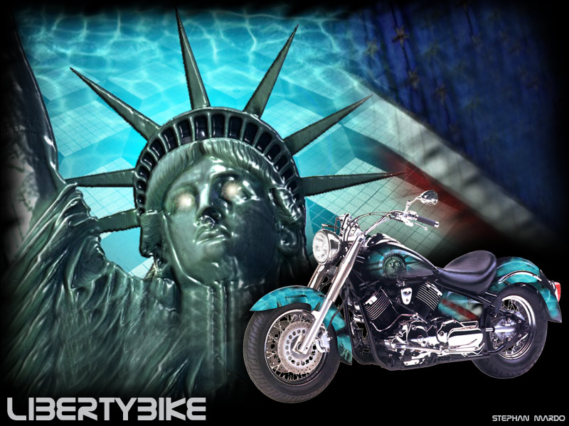 "Montage ""Libertybike"""