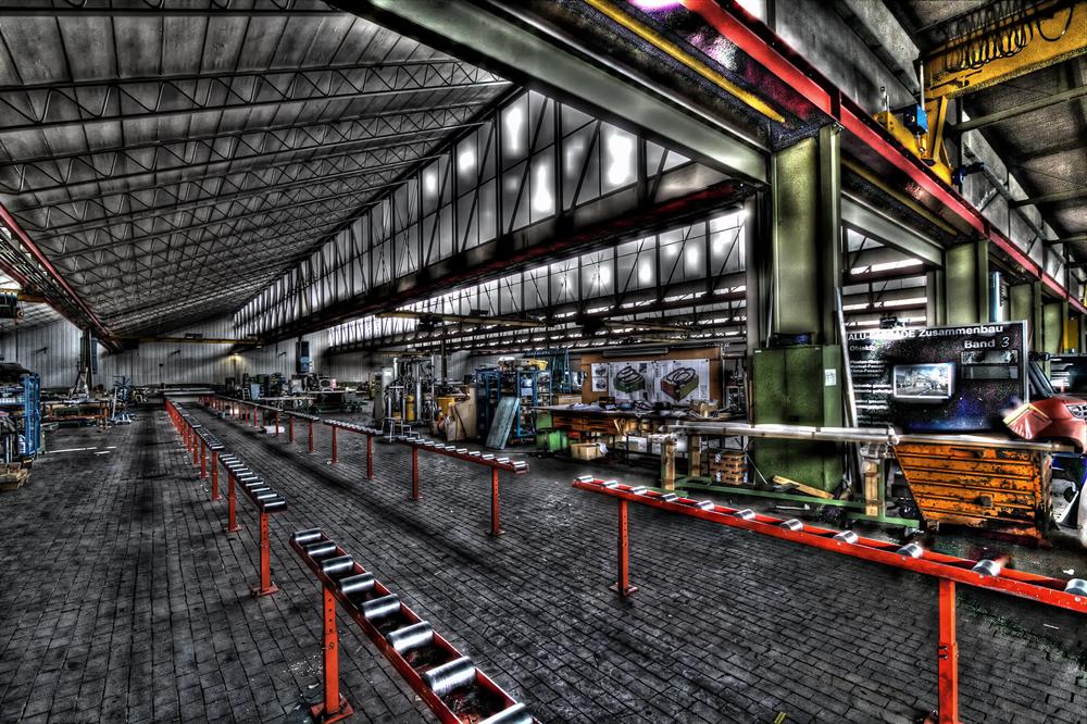 Montagehalle Fassadenbau
