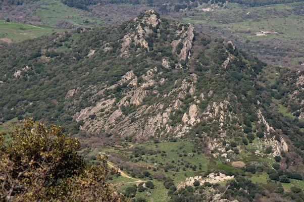 Montagna di Mezzo vista da culmine Monte Scala