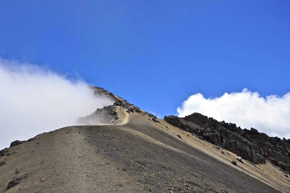 Montagne Ecuador 4800 m altitude