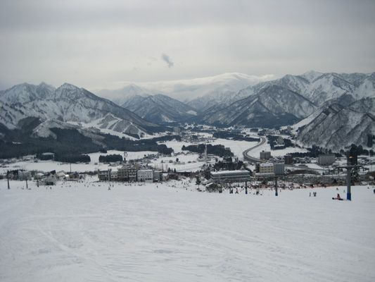 Montagne japonaise