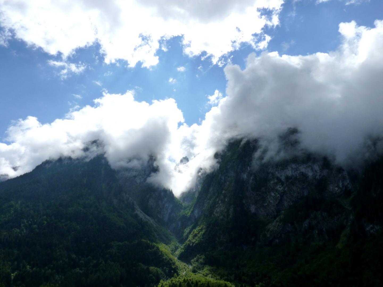 Montagne suisse après l'orage