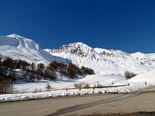 Montagnes et Neige