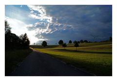 Montags: Mein Heimweg von der Arbeit (Farbversion)