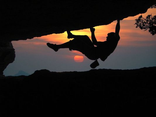 Monte Cucco Boulder