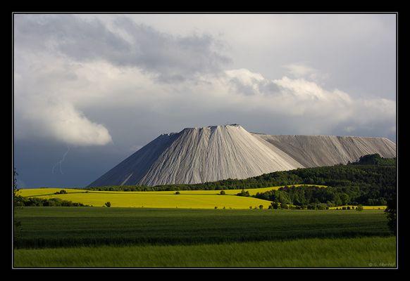 Monte Kali, Salzberg der Superlative...