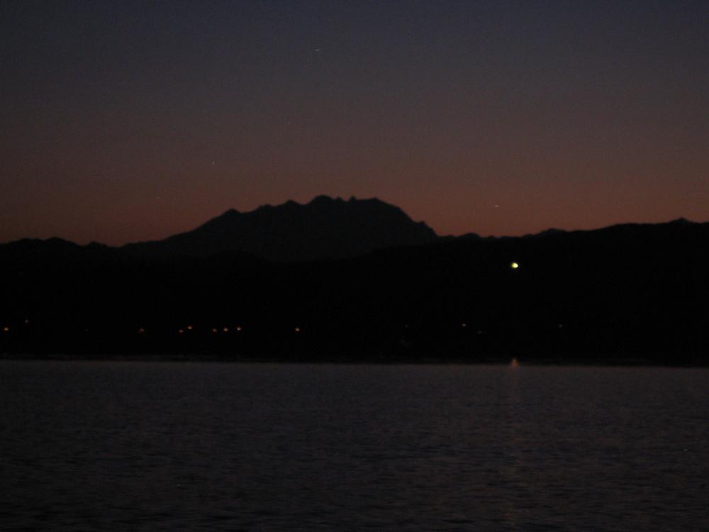 Monte Rosa tramonto