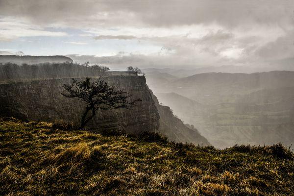 Monte Santiago: ( Nos pilló la tormenta )