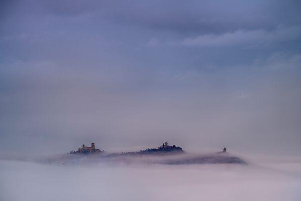 Monte Titano - Le tre torri