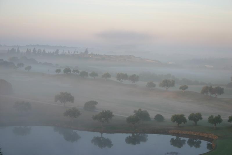 Montecastillo Golf im Nebel
