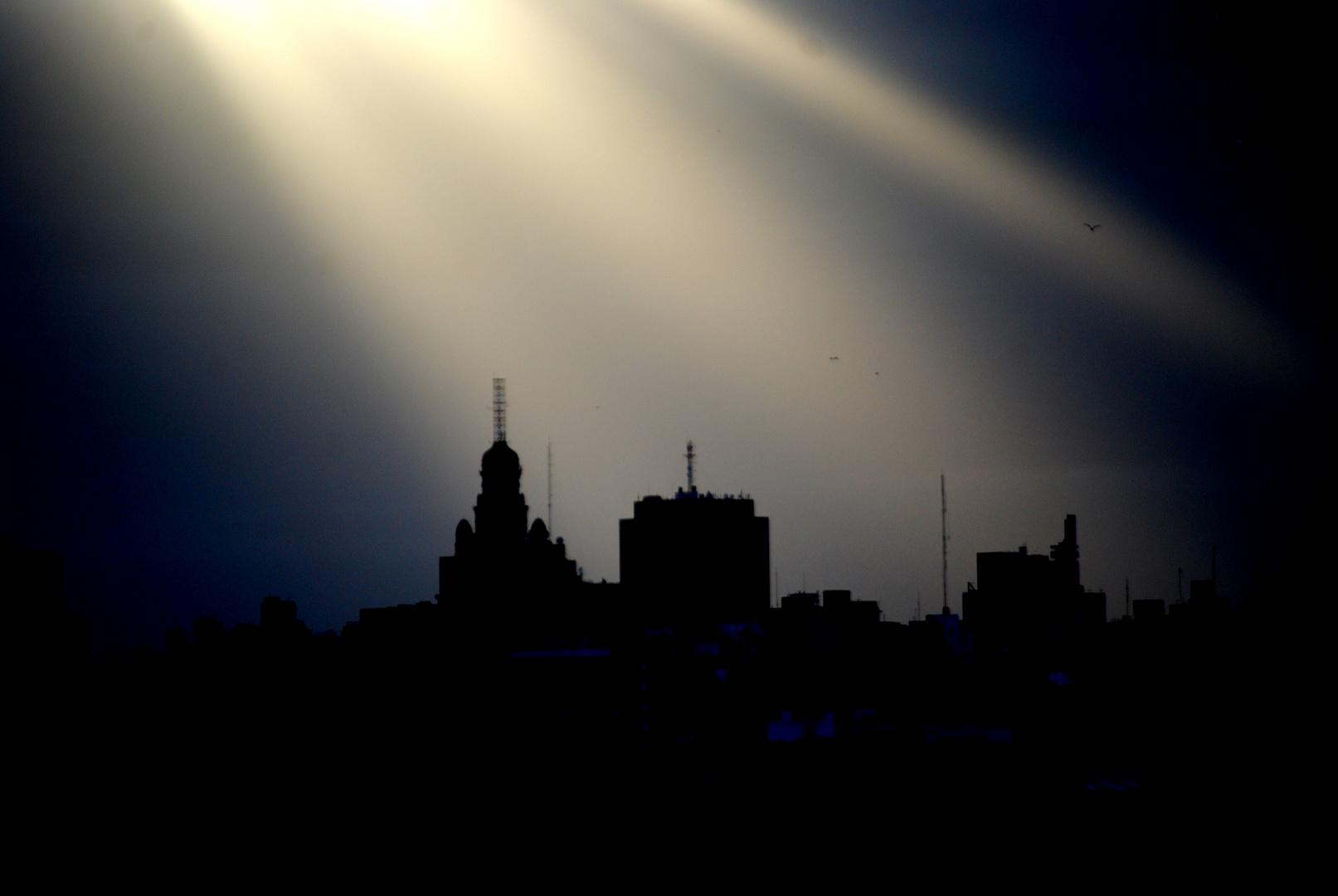 Montevideo a la tarde.