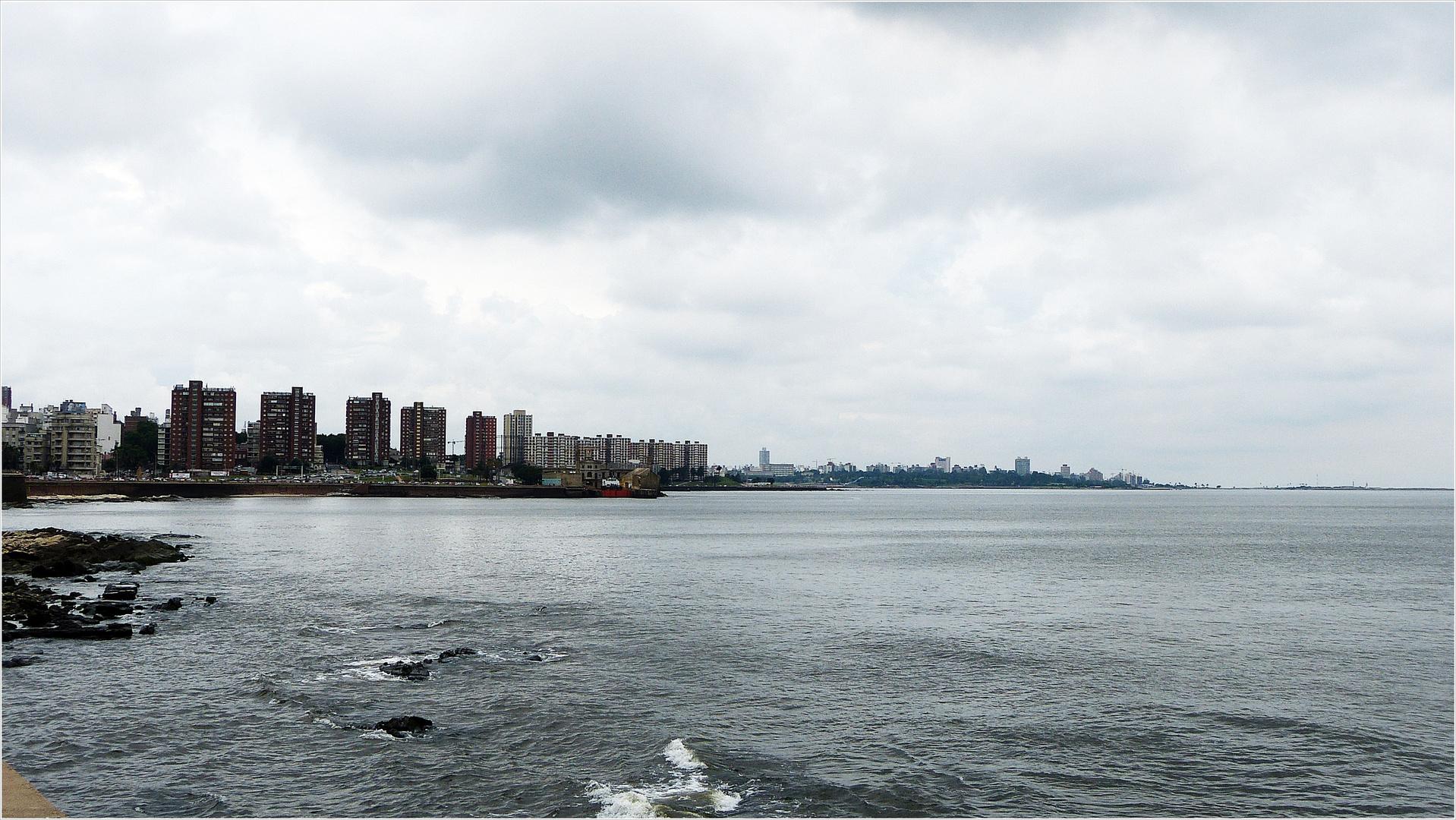 Montevideo am Ufer der Rio de la Plata-Mündung................