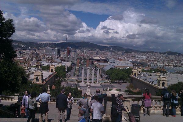 Montjuic, Barcelone.