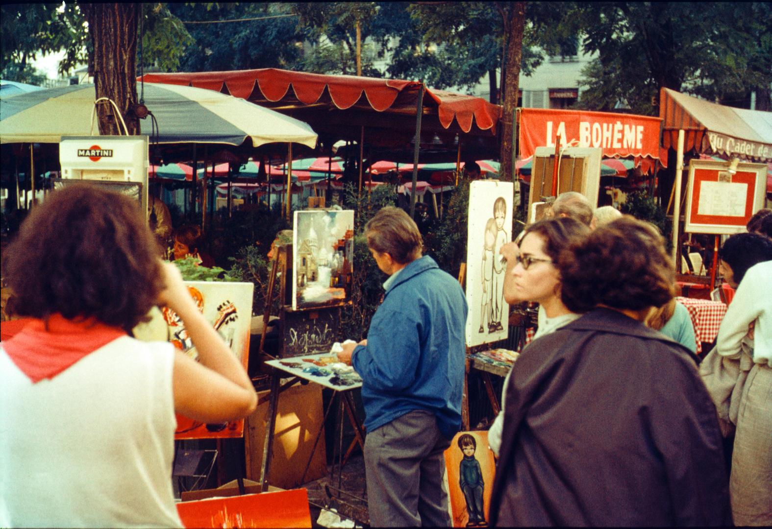 Montmartre / Paris 1966