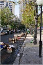 Montparnasse; Der Markt ist aus