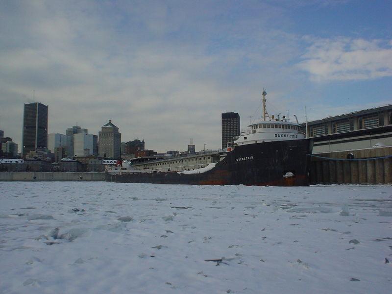 Montreal deep frozen
