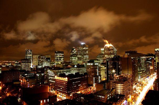 Montreal Downtown Nights II