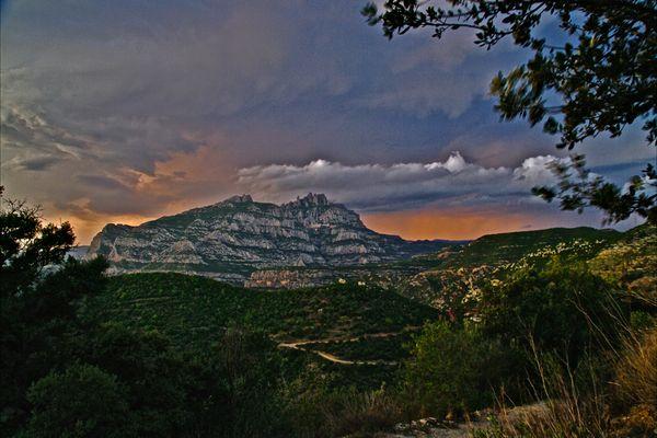 Montserrat, cada instante diferente