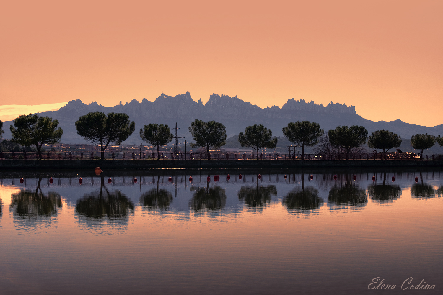 Montserrat desde el Parc de l´Agulla