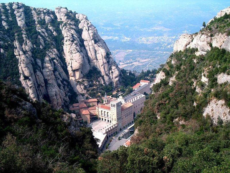 Montserrat von der Funicular Sant Joan