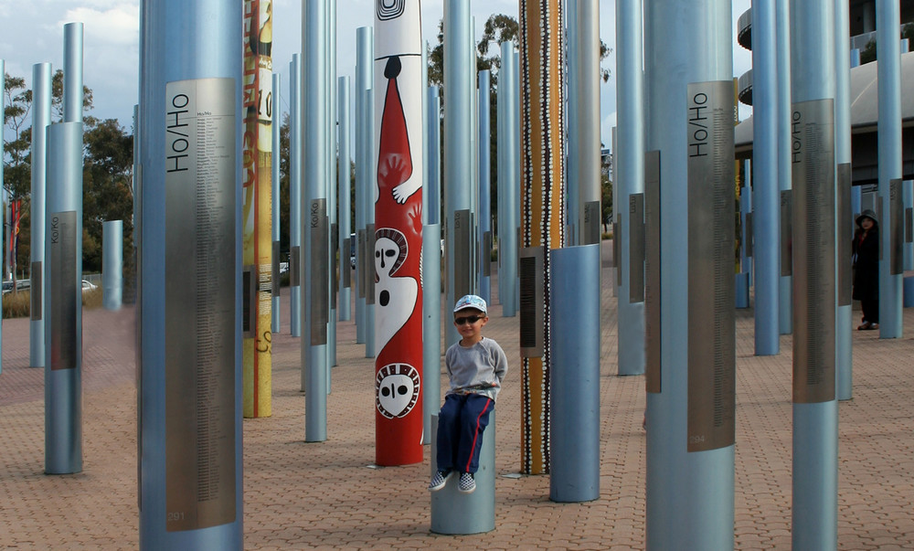 Monument im Sydney Olympic Park