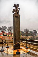 Monument mit Löwe