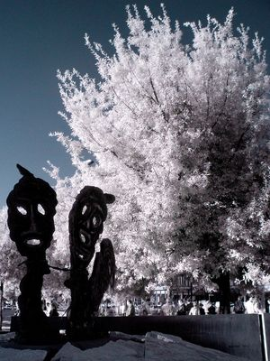 Monument of Foibe's Victims - Rome in Infrared