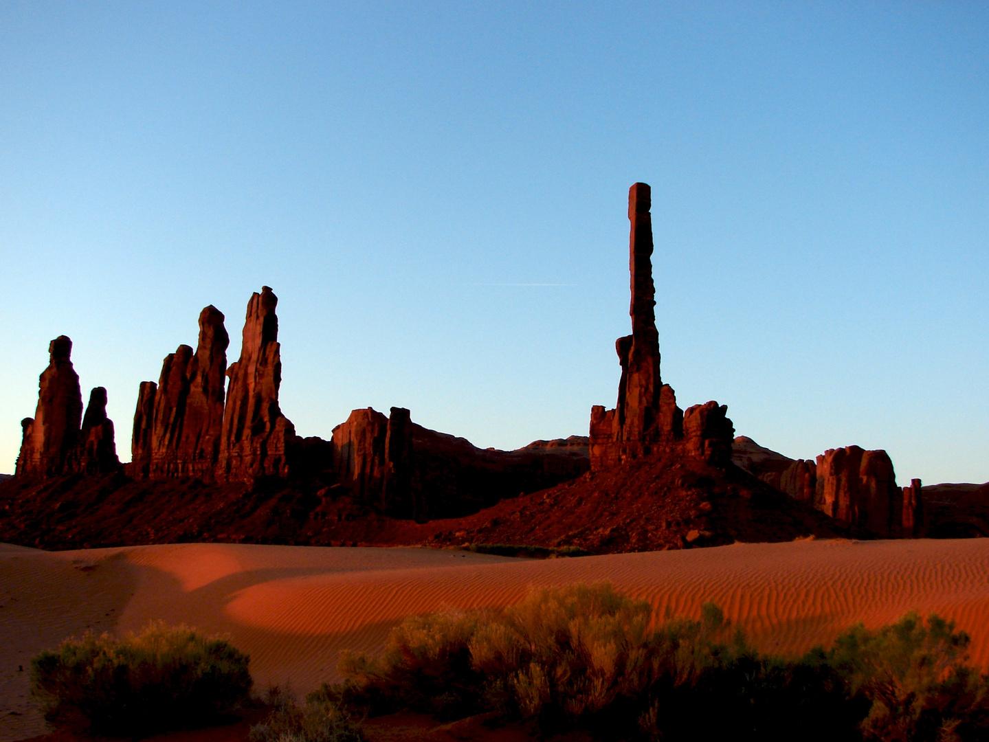Monument Valley am Morgen
