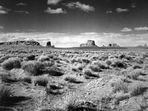 Monument Valley - B&W