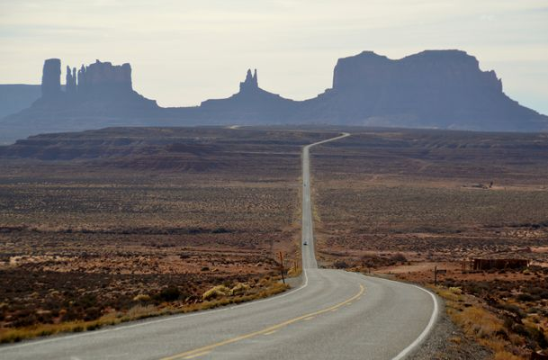 Monument Valley Forrest Gump