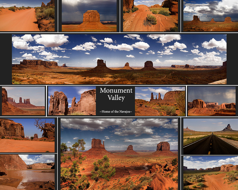 Monument Valley ~Home of the Navajo~