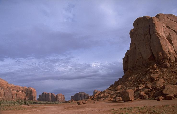 Monument Valley im Morgenlicht