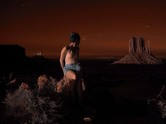 Monument Valley - Myself
