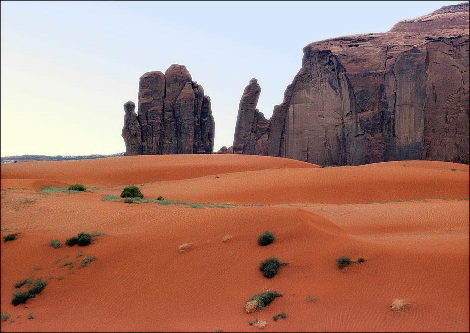 Monument Valley Sanddunes