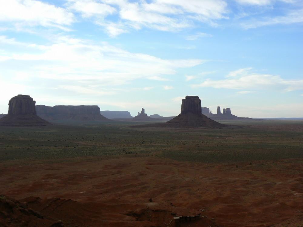 Monument Valley Sommer 2008