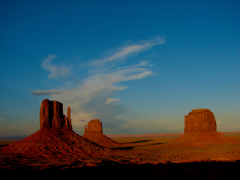 Monument Valley - Sonnenuntergang