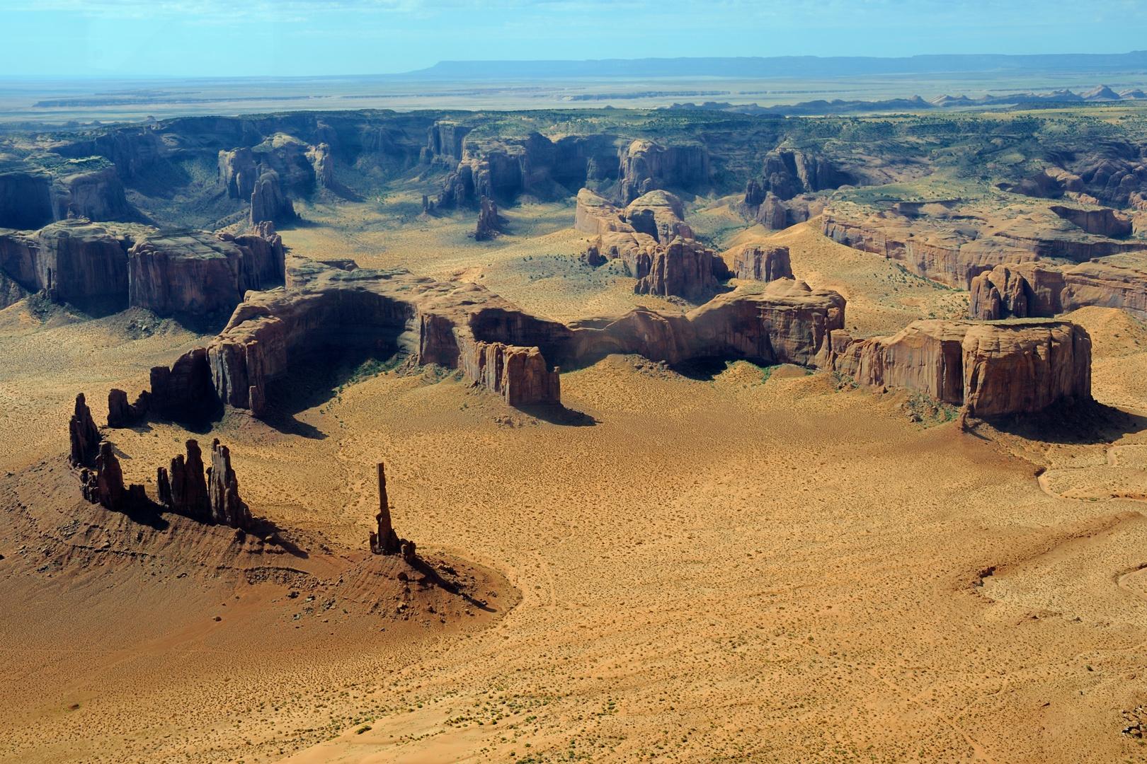 Monument Valley von oben