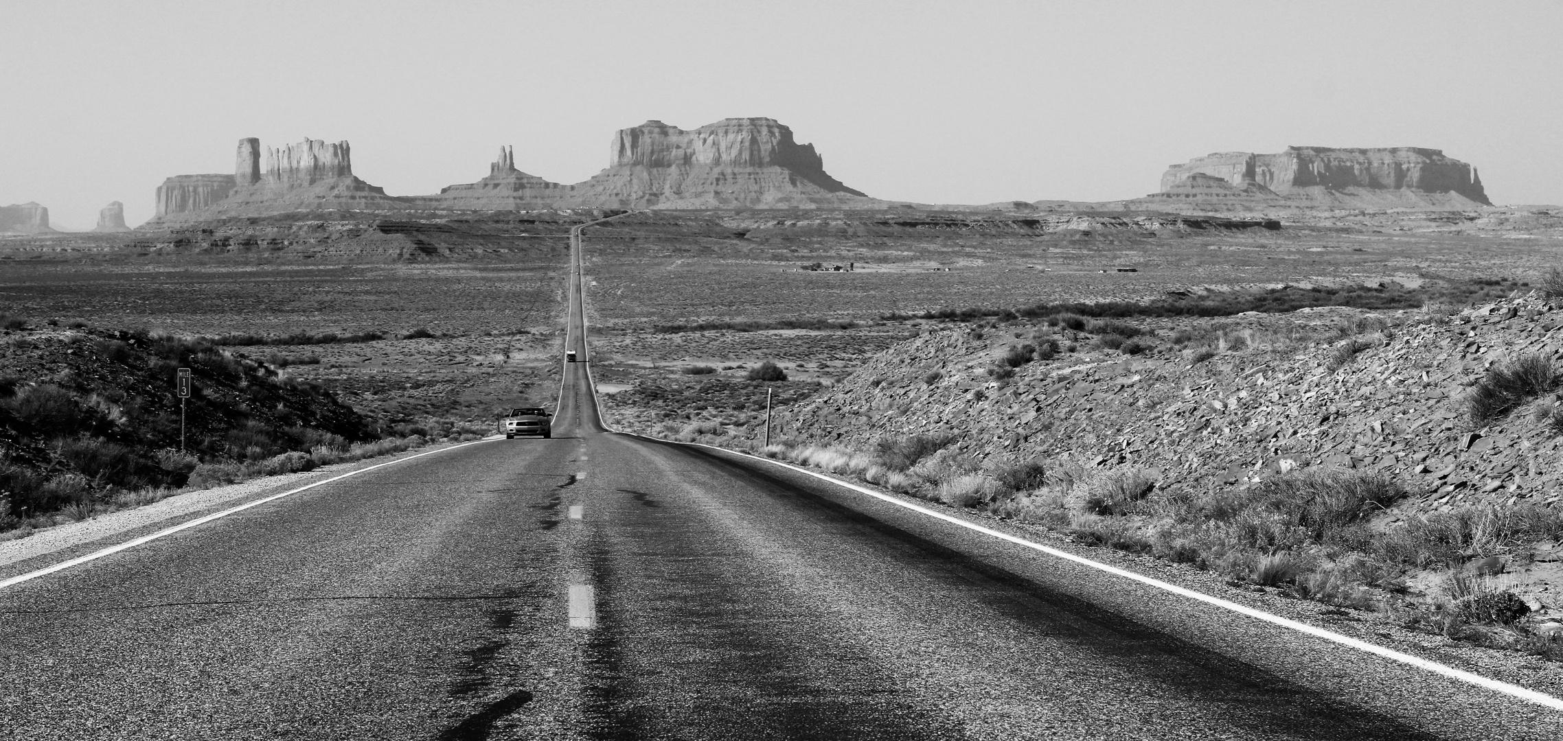 Monument Valley voraus