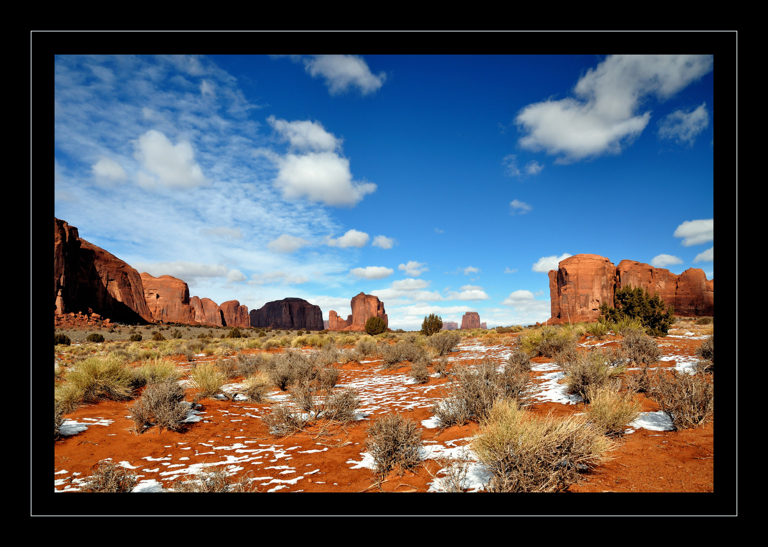 Monument Valley, Winter 2012 / 2